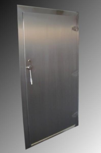 Jednokřídlé,chladírenské dveře vč.zárubně